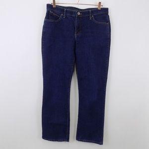 Wrangler Women's Q-Baby Jeans Size 11/12 x 34 Dark